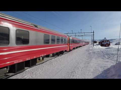Fra Vatnahalsen 4. Finse stasjon 13.02.17  0.44 min.