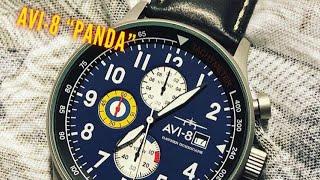 Avi-8 Hawker Hurricane Panda Dial Watch Review - Breitling Navitimer Alternative?