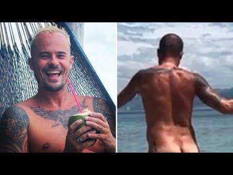 Paulo Vilhena publica vídeo nu em praia na Espanha