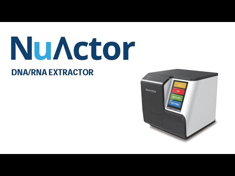Viral Rna Extraction Using Nuactor Youtube