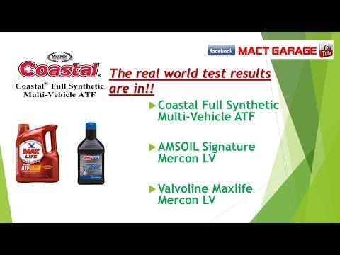 Valvoline Testing Better Than AMSOIL Signature And Coastal Mercon LV