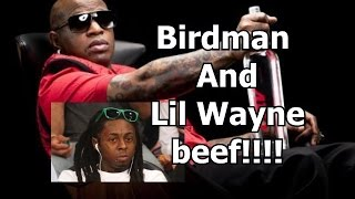 birdman and lil weezy lil wayne and young thug beef on ig and twitter