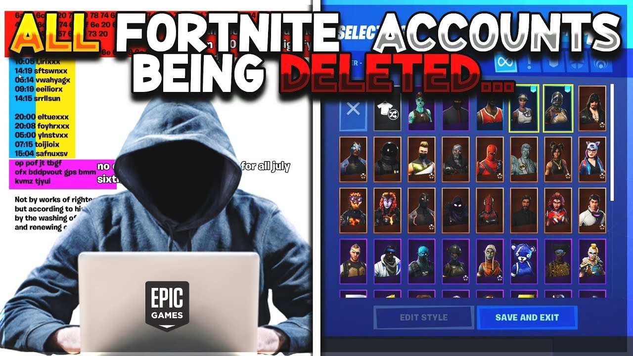 ALL FORTNITE ACCOUNTS ARE BEING *DELETED* ON JULY 6TH! (JENSENSNOW VS  AntiSnow)