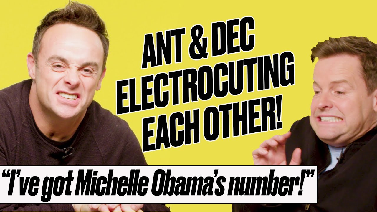 Ant And Dec Reveal The Famous Names In Their Phones | LADbible | Shocking Answers