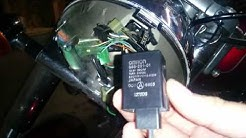 Turn signal relay on Honda Shadow VT750
