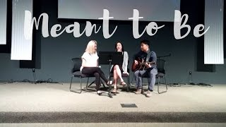 Melissa Polinar- Meant To Be (Cover by Rachel Kim, Mimi Shin, & Tommy Lee)