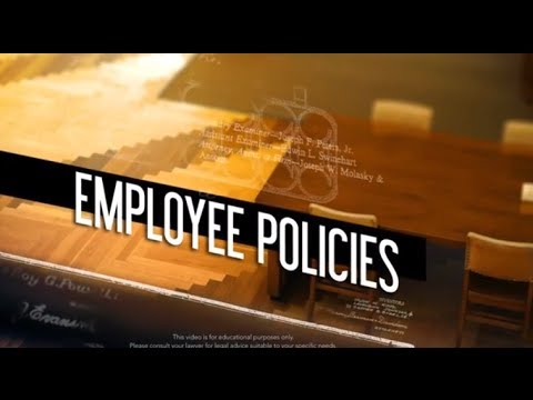 Intellectual Property: Employee Policies
