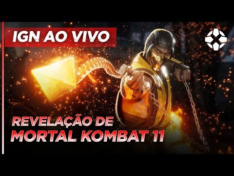 Revelação de Mortal Kombat 11 PT-BR com KillerXinok