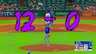MLB Bad Teams Destroying Good Teams