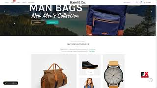 Basel - Responsive eCommerce Theme Caiden Grover