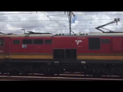 Transnet freight rail class 18E.