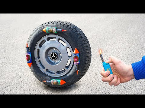 Experiment: Will the Car Wheel Move?
