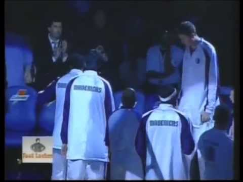 2001-2002 Dallas Mavericks Starting Lineups