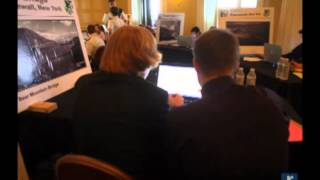 Raw Video: West Point Bridge-building Competition