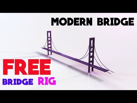 FREE Modern Bridge Rig! Bridge SpeedArt-LoogZa Artz~DL in De