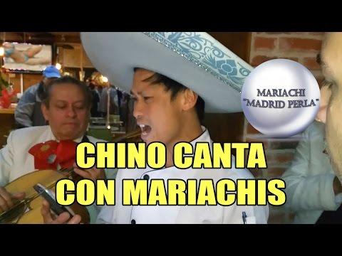 Chino canta con Mariachis - Filipino con el Mariachi Madrid Perla