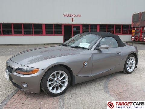 750379 BMW Z4 ROADSTER 2.5L E85 CABRIO 192HP 09-04 GREY 46633MIL RHD