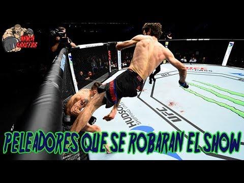 PELEADORES QUE SE ROBARAN EL SHOW EN 2018   MMA ADICT0S