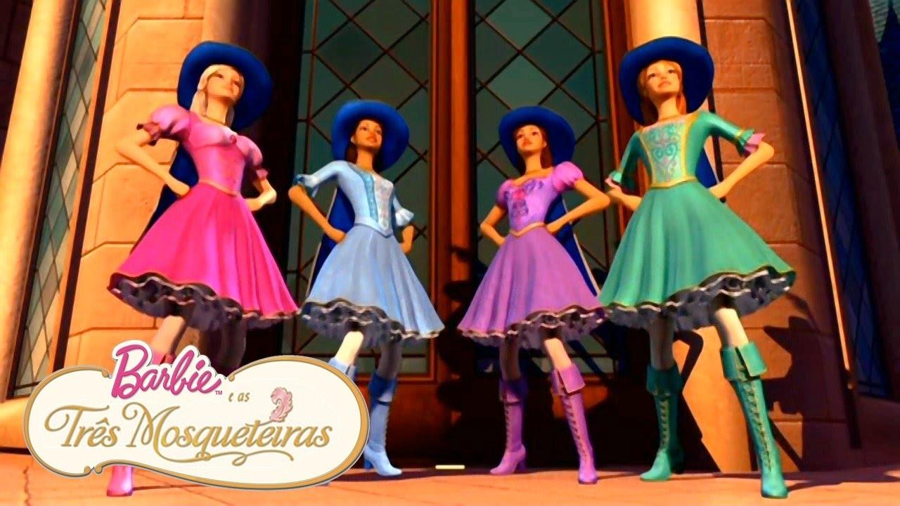 Barbie E As Tres Mosqueteiras Agora Somos Mosqueteiras Youtube