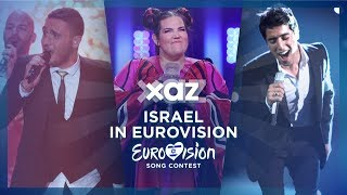🇮🇱 Israel in Eurovision - Top 9 (2010-2018)