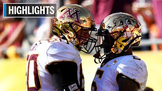 Highlights: Golden Gophers Win Outback Bowl | Auburn vs Minnesota | Jan. 1, 2020