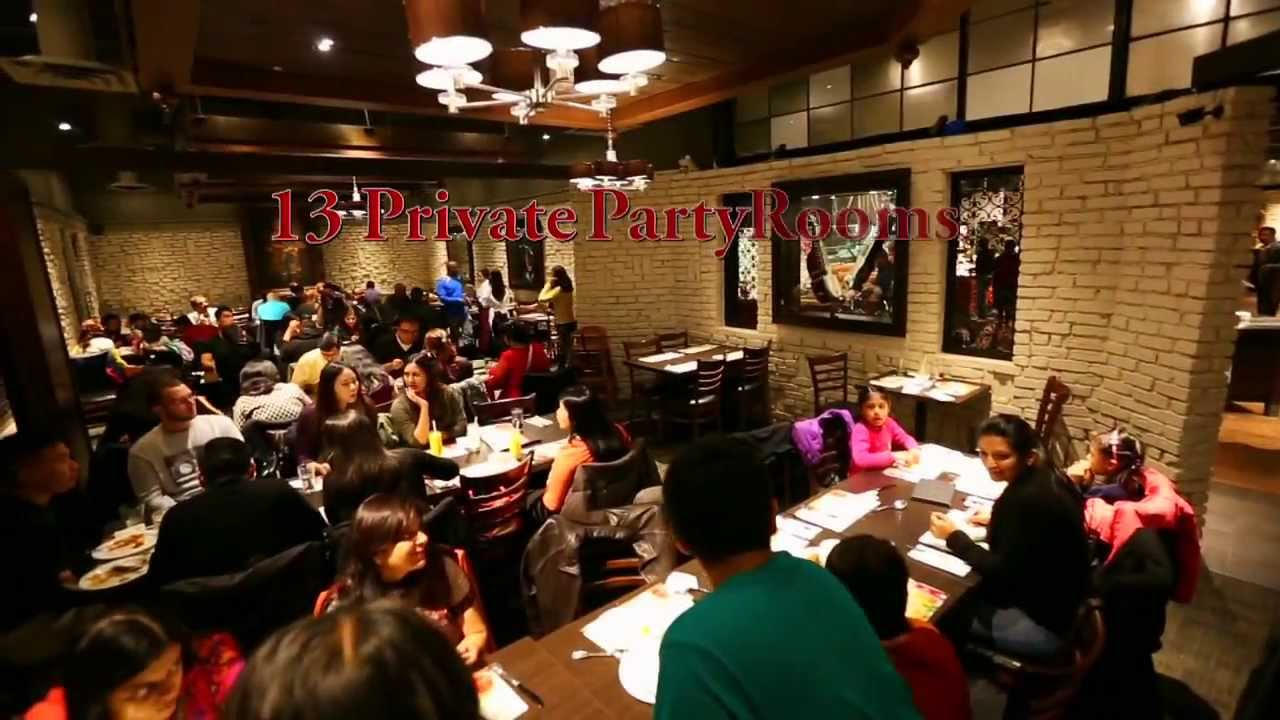 Tandoori Flame Private Party Rooms YouTube