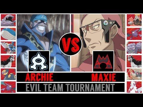 Archie vs. Maxie (Pokémon Sun/Moon) - Evil Team Tournament/Quarterfinal