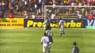 Atlético MG 2 x 6 Corinthians Quartas de final do Campeonato Brasileiro 2002
