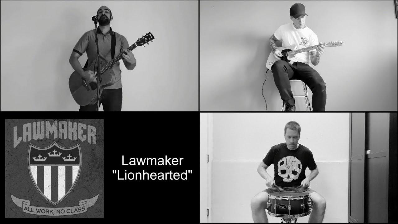 "Download Lawmaker - ""Lionhearted"" Lawmaker Records - A BlankTV World Premiere Quarantine Acoustic Video!"