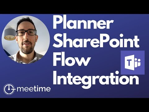 Microsoft Teams Best Practice: Planner, Flow And SharePoint Lists - Microsoft Teams Tutorial 2019