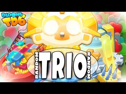 Sun Temple | Random Trio | Bloons TD6 PL