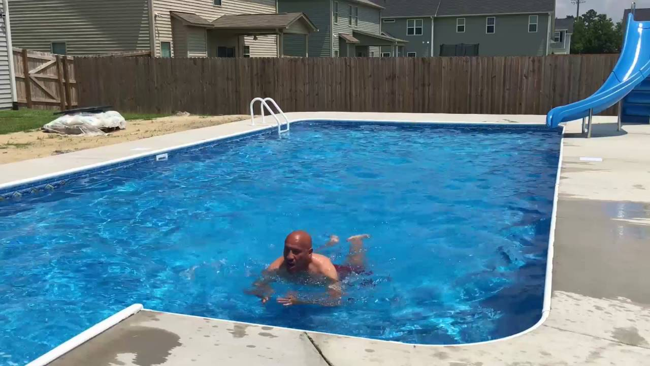 Swimming Pool Action : New swimming pool ready for action youtube