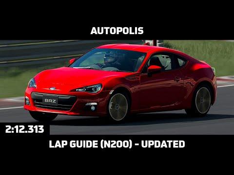 Gran Turismo Sport - Daily Race Lap Guide - Autopolis - Subaru BRZ (N200)