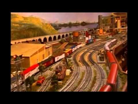 Lionel O Gauge Huge Train Layout HD 1