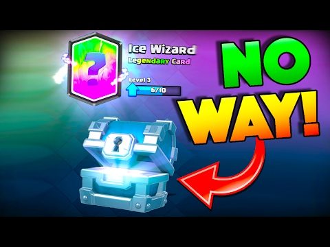 FREE LEGENDARY FROM A SILVER CHEST WTF! Clash Royale LUCKY Chest Opening + I SUCK!