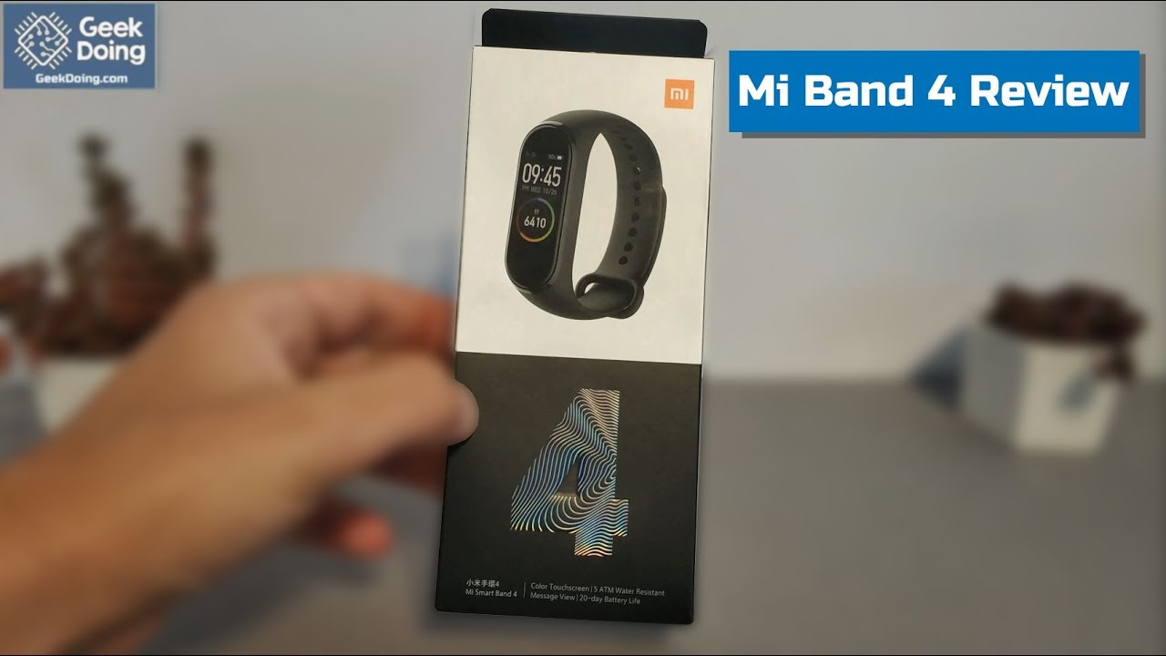 Forum/Video) Mi Band 4 [Global Version] Review | Reviews