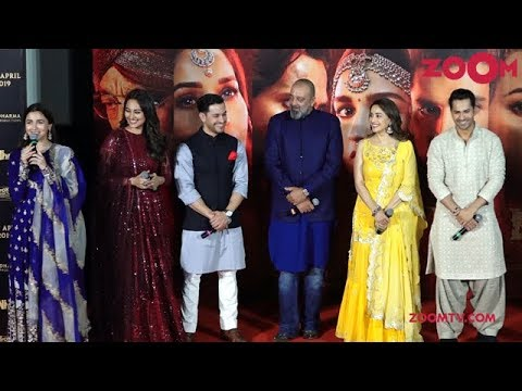 Kalank Trailer Launch | Varun Dhawan, Alia Bhatt, Sanjay, Madhuri, Aditya, Sonakshi | UNCUT