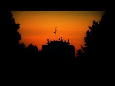 Sunrise in Bačka Topola, Serbia