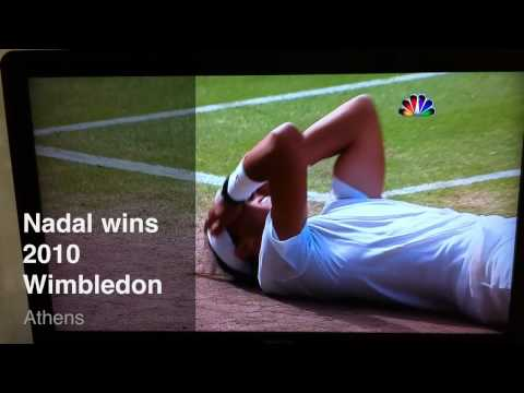 Nadal beats Berdych to win 2010 Wimbledon!