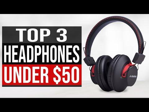 TOP 3: Best Headphones Under $50 In 2020