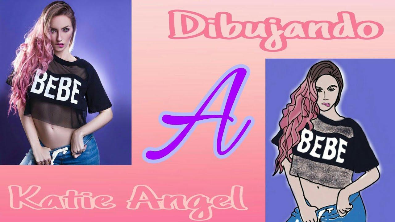 DIBUJANDO A KATIE ANGEL / Dibujos YouTubers