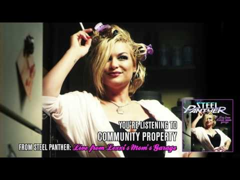 """Steel Panther - """"Community Property"""" (from Live from Lexxi's Mom's Garage)"""