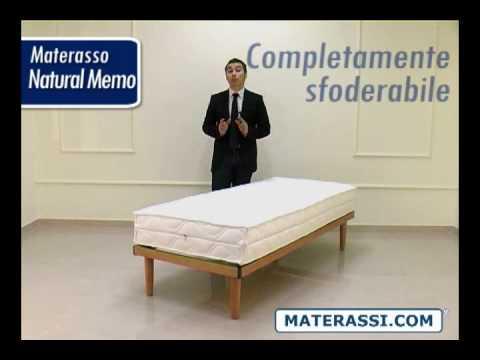Materasso Memory Viscoelastico Naturalmemo Youtube