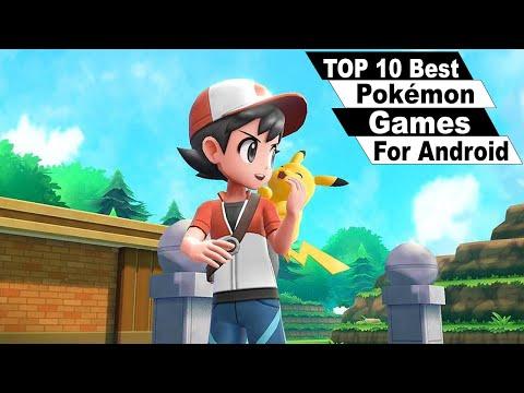 Top 10 Best Pokémon Games For Android 2019 (Offline\Online)
