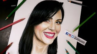 Dibujando a Sandra Cires Art | Retratando Youtubers | Capitulo 11