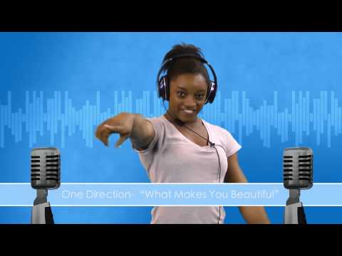 Music Minute - USA Gymnastics sings One Direction - 'What Makes You Beautiful'