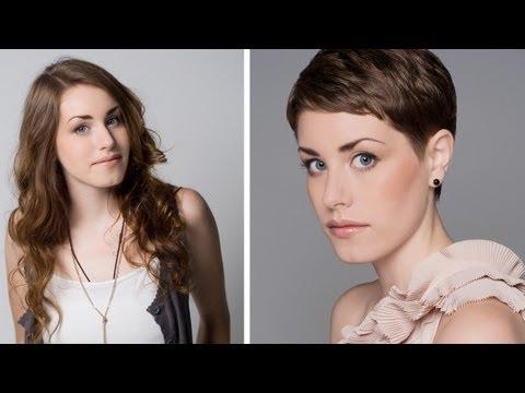 Short & Sweet - Emma Watson inspired crop haircut - Tutorial Movie Trailer