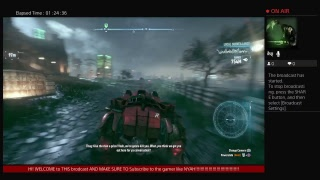 1 hour live stream batman arkham Night FULL