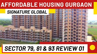 Affordable Housing Gurgaon Golf Greens Sector 79| Synera 81 Review|Orchid Avenue 93 Signature Global