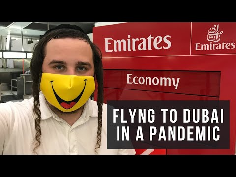 FLYING TO DUBAI DURING THE PANDEMIC (FIRST TIME FLYING EMIRATES)